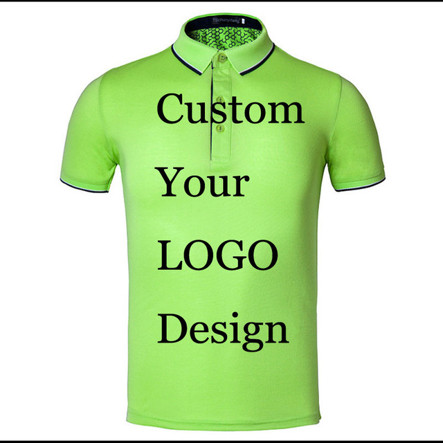 Customized Polos Custom Embroidery Printing Your Design Unisex Polo