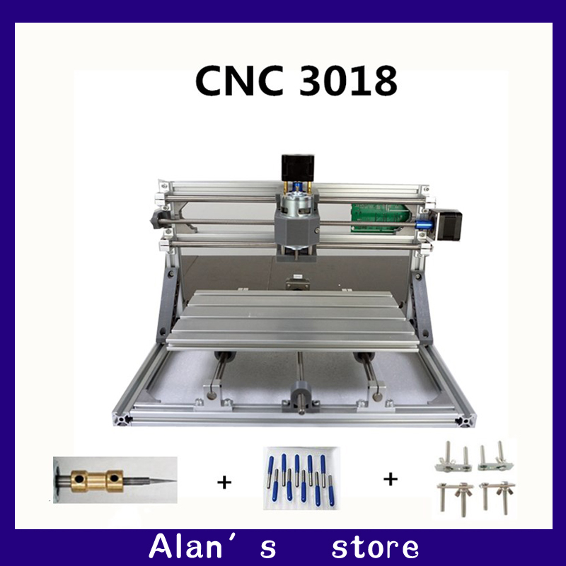 CNC DIY 3018 ER11 GRBL control mini CNC machine tools, PCB milling machine, laser engraving machine Woodworking router best toys