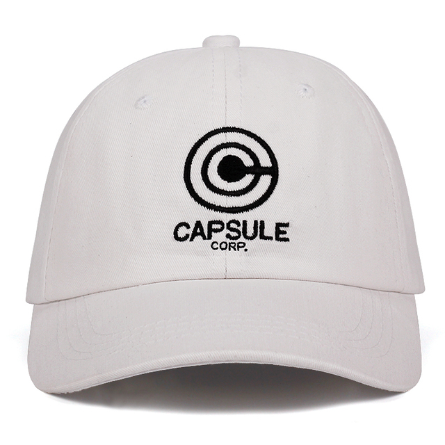 Capsule corp. Dragon Ball Anime Snapback Baseball Caps