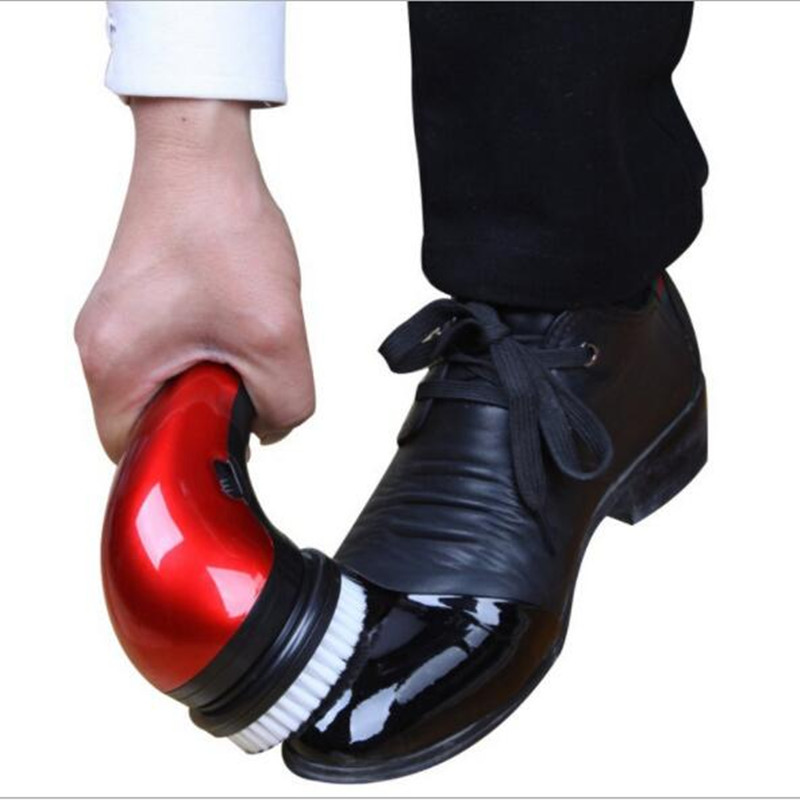 Household Mini Shoe Polisher Portable Leather Polishing Equipment Automatic Clean Machine
