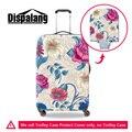 Dispalang colorful flower impressão bagagem mala de cobre para as mulheres meninas moda estiramento elastic protector tampa alta qualidade