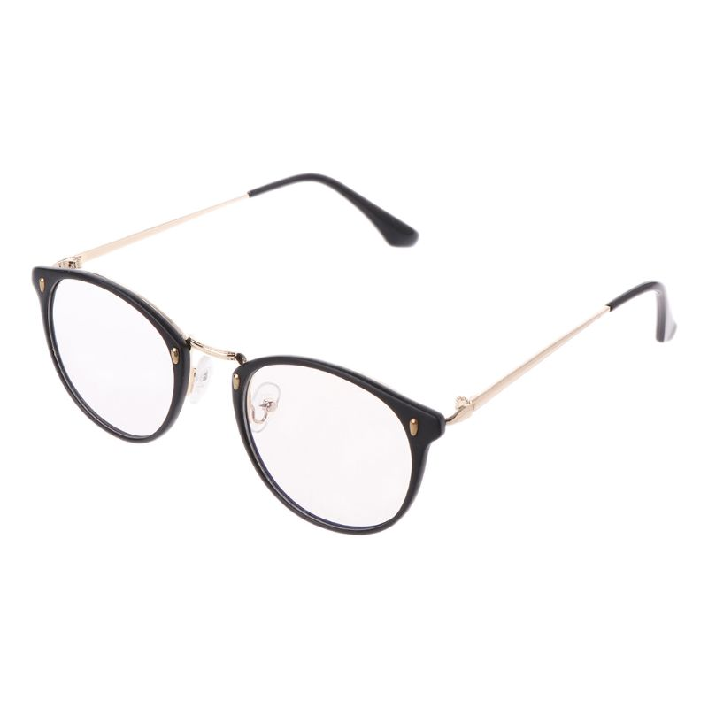 Retro Men Women Clear Lens Eyeglass Frames Designer Optical Computer Glasses Blue Light Blocking