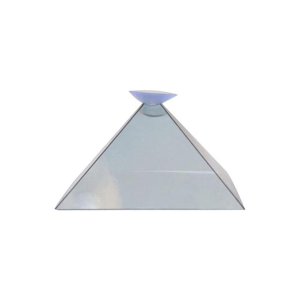 3D Hologram Pyramid Display Projector Video Stand Universa Transparent Household  For Smart Mobile Phone