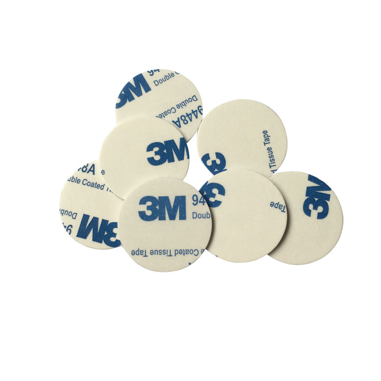RFID IC 13.56Mhz Double-sided Stickers Plastic Coin Card ID Coin Card For Access Control Tracking Car