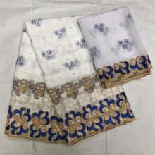 В африканском стиле красивая для Для женщин хлопок сухое кружево с камнями сухие кружева ткань швейцарская вуаль в африканском стиле; кружевная ткань A1287
