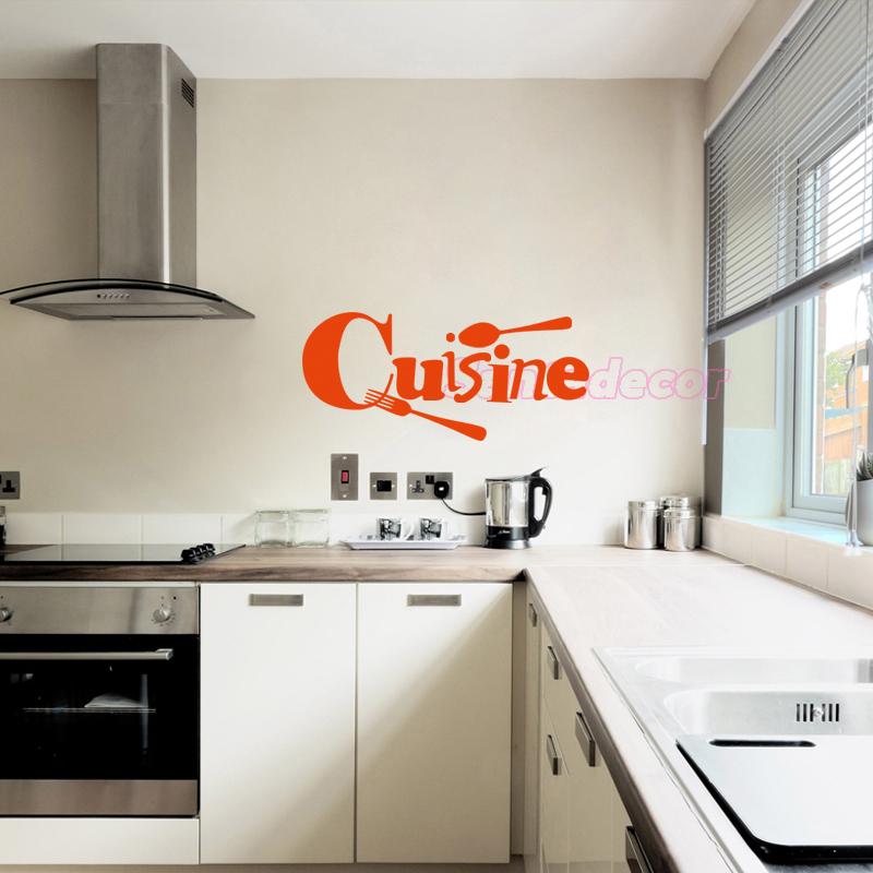 Kitchen Dining Table Cover Wall Stickers Vinyl Film Mural Round Decal 60cm e