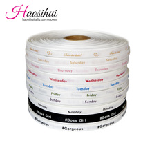 3/8(10mm) grosgrain ribbon Personalized Favors Printed Ribbon for Party Wedding Baby Shower Favor 100yards/lot