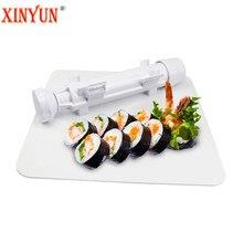 XINYUN Roller Sushi Molde Sushi Kit Bazooka Rollos Fácil de BRICOLAJE Sushi Bento Sushi Fabricante de Moldes de Herramientas de Cocina Accesorios