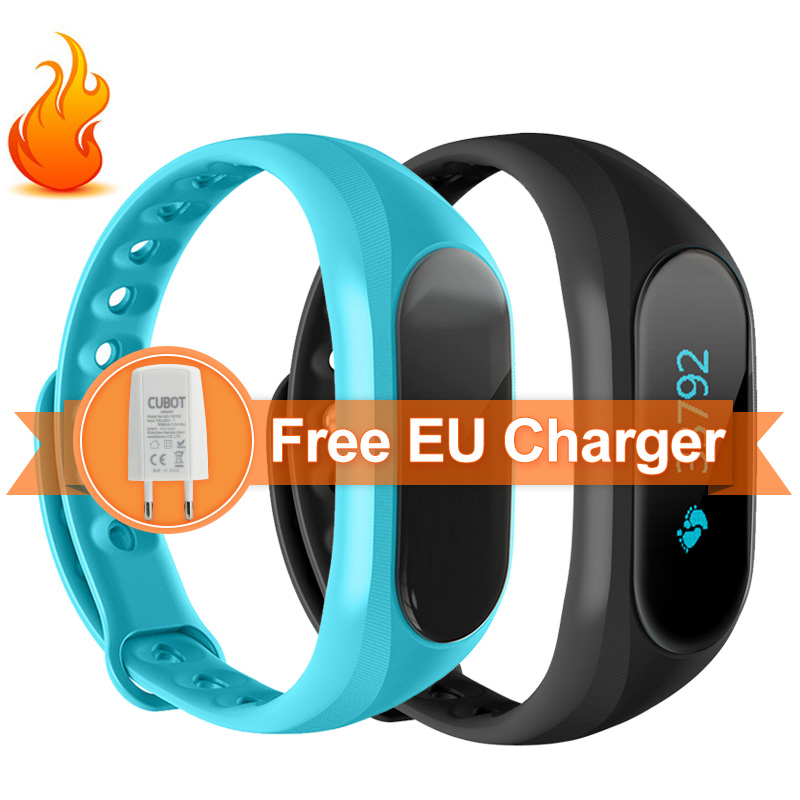 CUBOT V1 Smart Band IP65 Waterproof Touch Screen Sports Wristband For Android IO