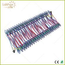 1000 шт. DC5V 12 В WS2811 IC RGB светодиодный модуль струнный светильник 12 мм полноцветный IP68 открытый водонепроницаемый рекламный светодиодный пиксельный светильник