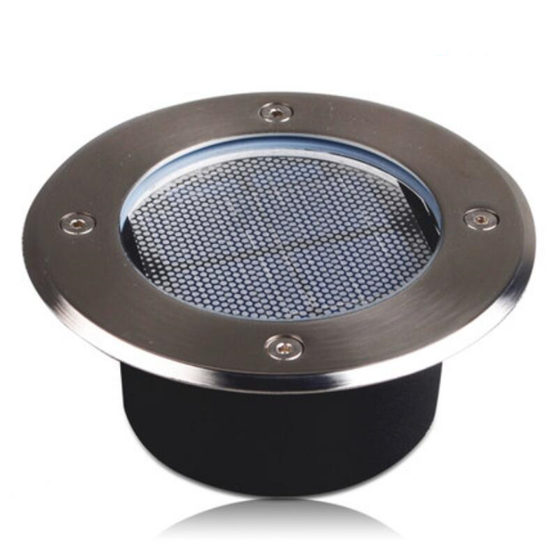 Led Underground Lamps Lights & Lighting Led Underground Lamps Solar Inground Buried Spotlight 3.7v Waterproof Solar Led Lawn Lamps Landscapes Garden Path Way Lighting Clear-Cut Texture