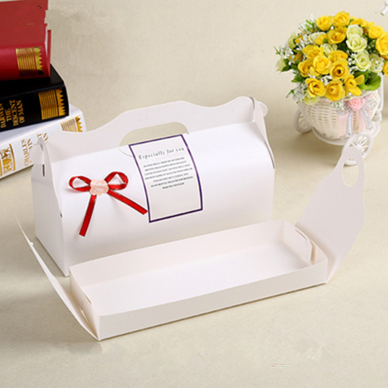 Baking Packaging White Kraft long paragraph roll cake box portable cupcake cups bakery box snowy moon cake boxes With Neto on Aliexpress.com | Alibaba Group & Baking Packaging White Kraft long paragraph roll cake box portable ... Aboutintivar.Com