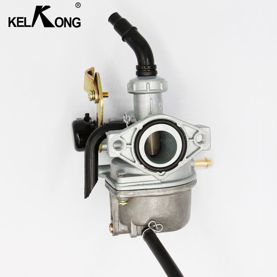 KELKONG OEM 19mm PZ19 Motorcycle Carburetor automatic 50cc 70cc 90cc 110cc atv 110cc Dirt Bike Carb Choke Taotao carburettor vodool motorcycle 20mm carburetor for pz20 50cc 70cc 90cc 110cc 125cc atv carb moto accessories