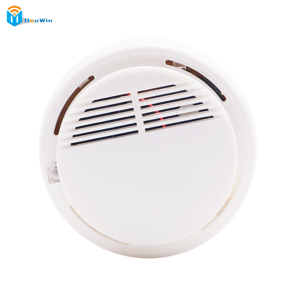 Smoke Alarm High Sensitive Independent   for alarm system for home Makd Smart House smoke sensor wireless alarm  Fire Detector wireless smoke fire detector for wireless for touch keypad panel wifi gsm home security burglar voice alarm system