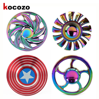 Multicolor Circular Tri Hand Spinner ADHD And Austim Learning Educational Toy Stable Long Time Adult Nostalgia