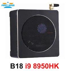المشارك أعلى كمبيوتر ألعاب إنتل النواة i9 8950HK 6 النواة 12 المواضيع 12M مخبأ 14nm Nuc البسيطة PC Win10 برو HDMI AC WiFi BT DDR4