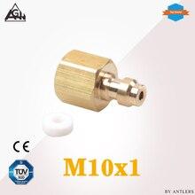 M10x1 Thread Air Pcp hand pump compressor 8mm filling  Paintball Airsoft Air Gun PCP Male Quick Disconnect Adapter все цены