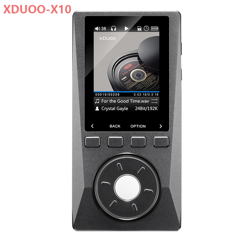 HIFI MP3 Player NEW XDUOO X10  Leather Case High Resolution Lossless DSD Music Player DAP