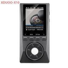 De ALTA FIDELIDAD Reproductor de MP3 NUEVO XDUOO X10 (+ Estuche de cuero) alta Resolución Lossless Reproductor de MP3 Reproductor de Música Soporta Salida Óptica DAP DSD