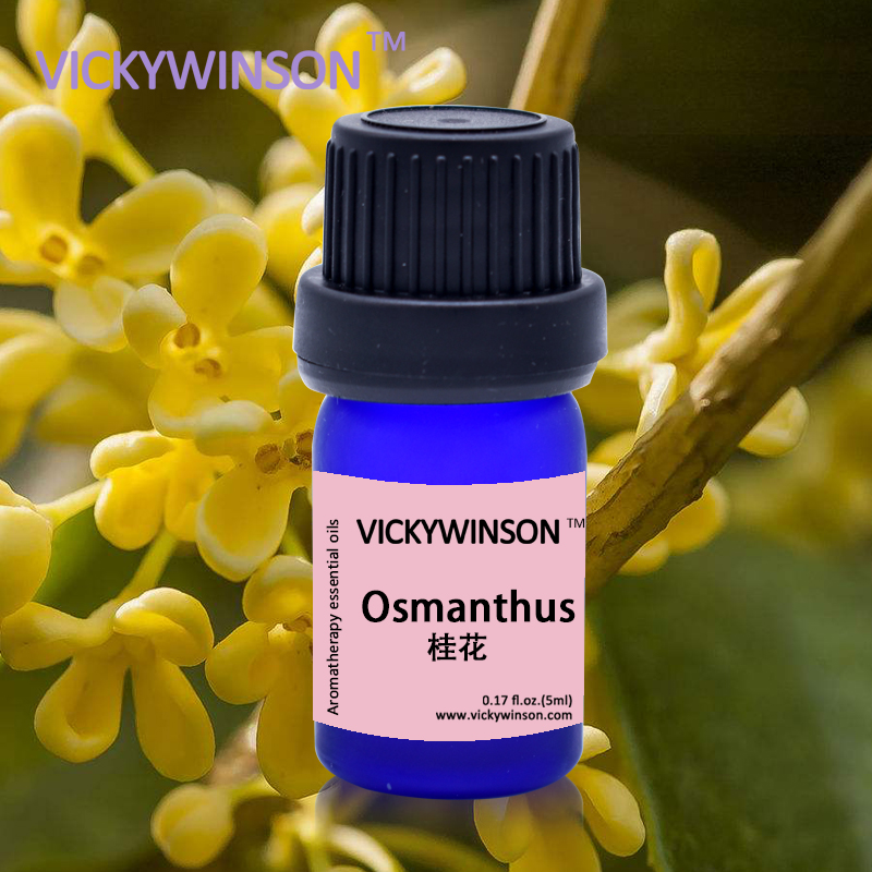 VICKYWINSON Repelling And Relax Plant Therapy Lymphatic Drainage Osmanthus Oil Natural Oil Body Care 5ml Deodorization