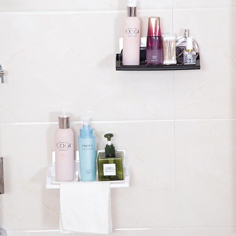 Household Bathroom Cosmetic Toiletries Storage Shelf Kitchen Supplies Storage Rack Toilet Vanity Wall Storage Shelf