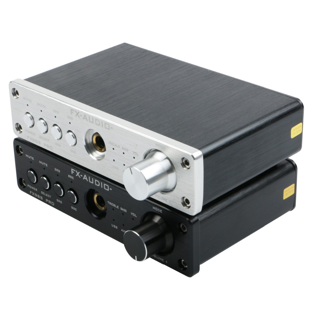 FX-AUDIO FX-98S upgraded version of USB audio processor PR0 decoding DAC PCM2704 MAX9722 pre-amp JRC NJW1144 audio amplifier