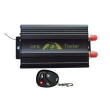 Coban GPS Del Vehículo Perseguidor TK103B + tarjeta sim Dual Del Coche de banda Cuádruple GPS GSM gprs que sigue el dispositivo del Sistema de Seguridad Antirrobo