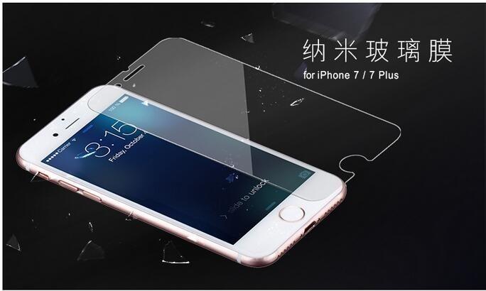 imágenes para 100 unids 0.3mm para el iphone 4s 5s se 6 7 6 s plus teléfono película protectora de cristal templado protector de la pantalla táctil