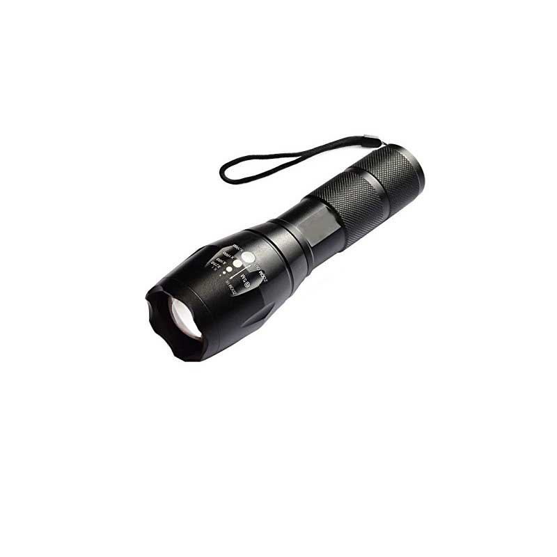 Ultrafire E17 XM-L T6 5000LM Aluminum Waterproof Zoomable Cree LED Flashlight Torch Light for 18650 Rechargeable Battery or AAA leshp xm l t6 5000lm aluminum waterproof zoomable cree 5 mode led flashlight torch light for 18650 rechargeable battery or aaa
