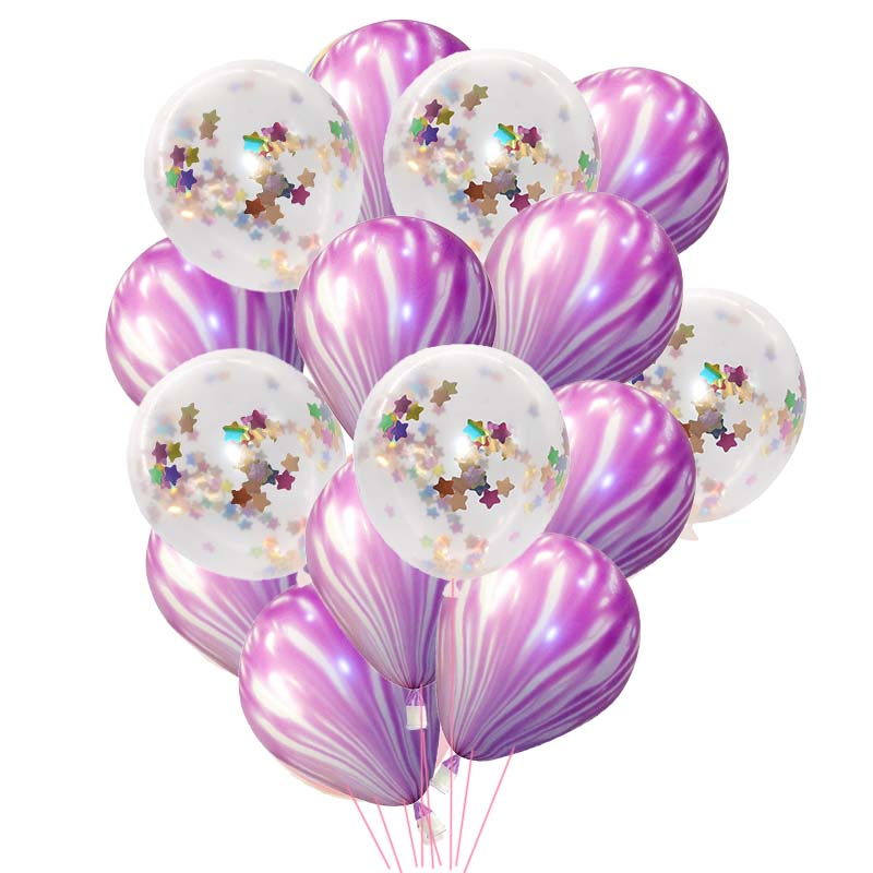 Strict 15pcs/set Latex Balloons Inflatable Wedding Birthday Party Decoration Confetti Ballon Baby Shower Party Favors Supplies Kids Toy Reputation First Home & Garden Event & Party