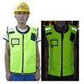 Горячие Продать Светоотражающие Велоспорт Жилет с Ветрозащитный Куртка для Дорожной Безопасности и Строительство Бесплатная Доставка