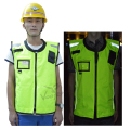 Hot Sell Reflective Cycling Vest with Windproof Jacket for Road Safety and Road Construction  Free Shipping