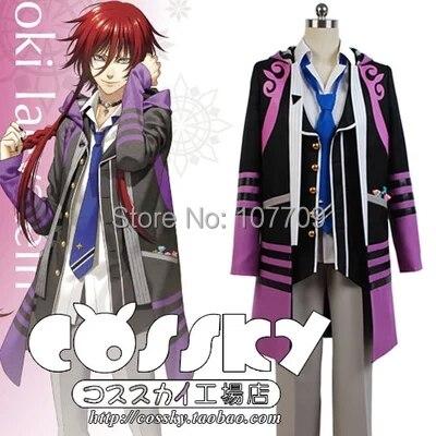 Kamigami no Asobi Loki Laevatein Halloween Christmas Men And Women Cos Anime Cosplay Costume Uniforms