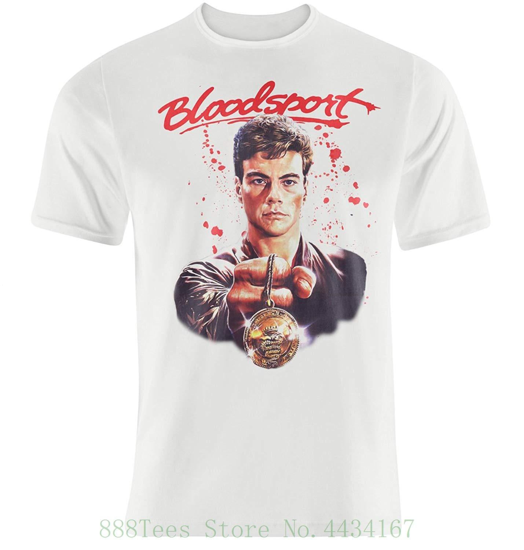 Shirt Jean-Claude Van Damme New Funko Home Video Bloodsport Black T-Shirt M,L
