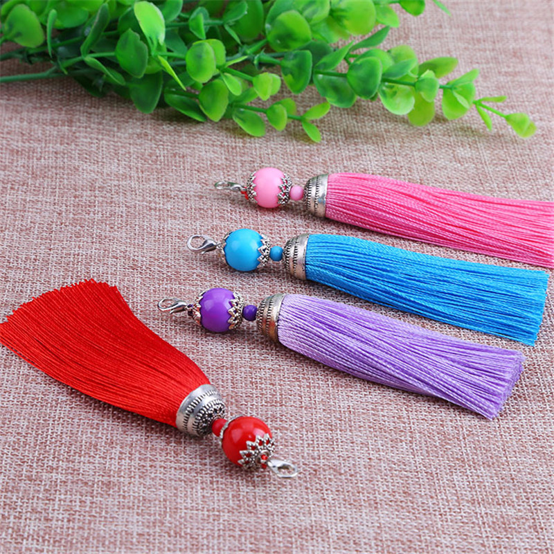 Detail Feedback Questions About 5pcs Alloying Craft Tassel Pendant
