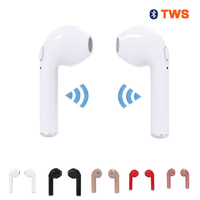 Tws I7 Wireless Bluetooth Earphones Stereo Headset Sports Earphone For IPhone 7 Plus 7 6s 6