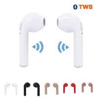 Tws I7 Wireless Bluetooth Earphones Stereo Headset Sports Earphone For IPhone 7 Plus 7 6s 6