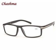 Chashma Brand Designer Optical Eyewear Plastic Reading Glasses Sport Stylish Mens Eye for Read Black Color +1.5 Female
