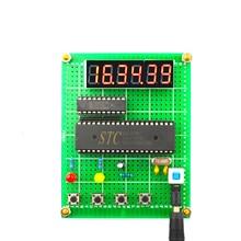 Simple electronic clock design Digital meter kit Digital clock DIY kit