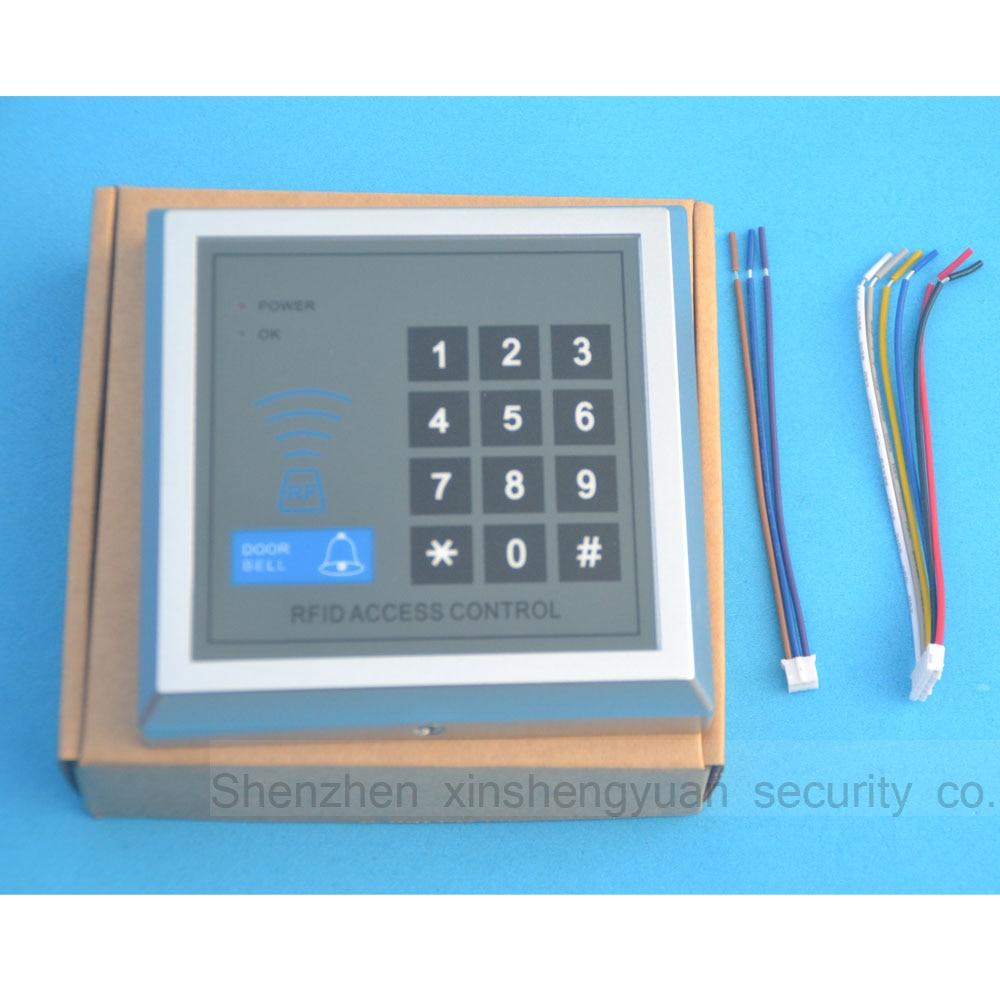 500 User Security RFID Proximity Entry Door Lock Access Control System 10 Keys