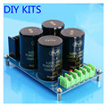Amplifier Rectifier Filter Board 4x10000UF Large capacitor Full Bridge Filter Subwoofer DC Amplifiers DIY KITS