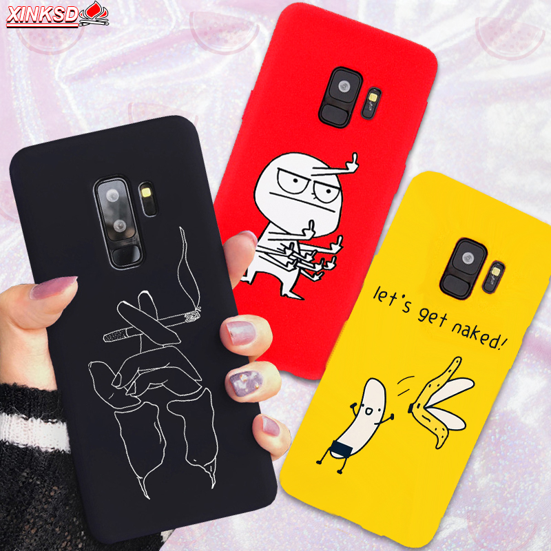 Silicone Phone Case For Samsung Galaxy S10 S10E S9 Plus Cute Cartoon Cat Cover For Samsung A50 M10 M20 A6 2018 J5 2017 Soft Case image