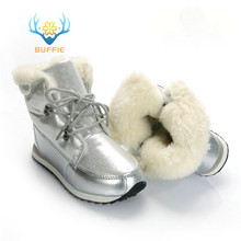 Winter fashion women boots ankle high warm snow boots girl boots thick fur non slip outsole high quality plus size free shipping