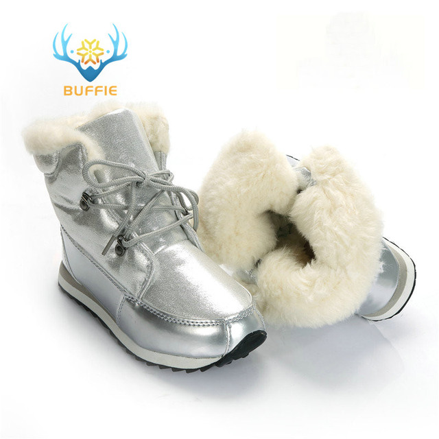 Winter fashion women boots ankle high warm snow boots girl boots thick fur  non-slip outsole high quality plus size free shipping 5b708011d8cc