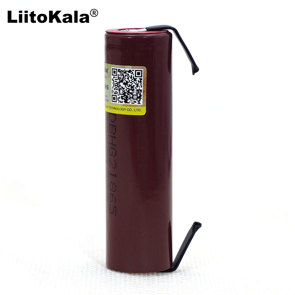 Liitokala new HG2 18650 3000mAh Rechargeable battery 18650HG2 3.6V discharge 20A, dedicated For hg2 batteries + DIY Nickel-in Replacement Batteries from Consumer Electronics