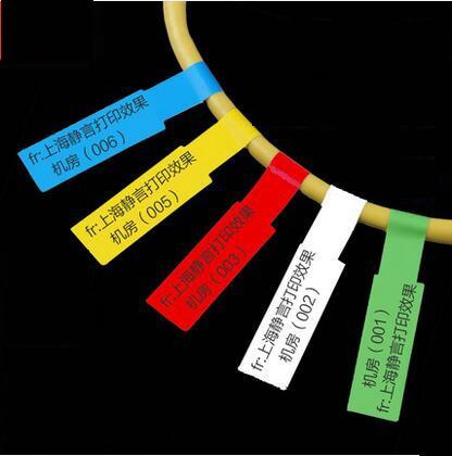 Wasserdicht Reißfest öldicht Netzwerkkabel Etiketten Aufkleber 83x26mm 300 stücke A4 Größe Blank Label use für für laserdrucker