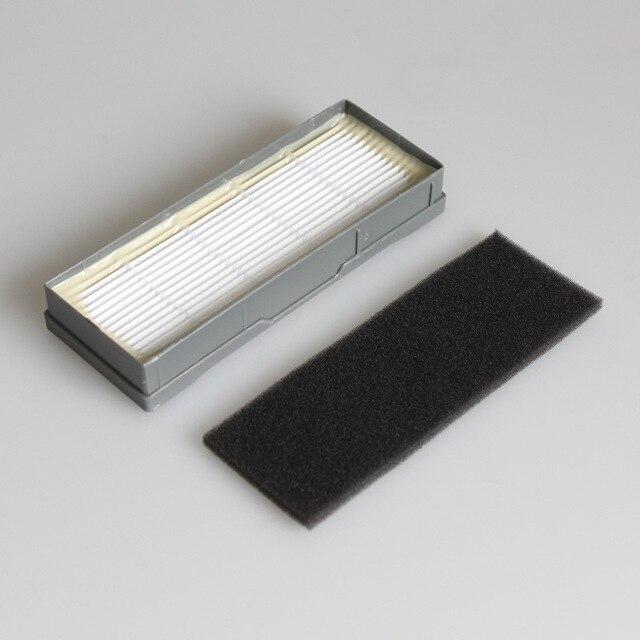 Wysokiej jakości szczotka główna i filtr hepa i szczotki boczne zamienniki dla Ecovacs Deebot DT85 DT83 DM81 DM85 DM86vacuum części do czyszczenia