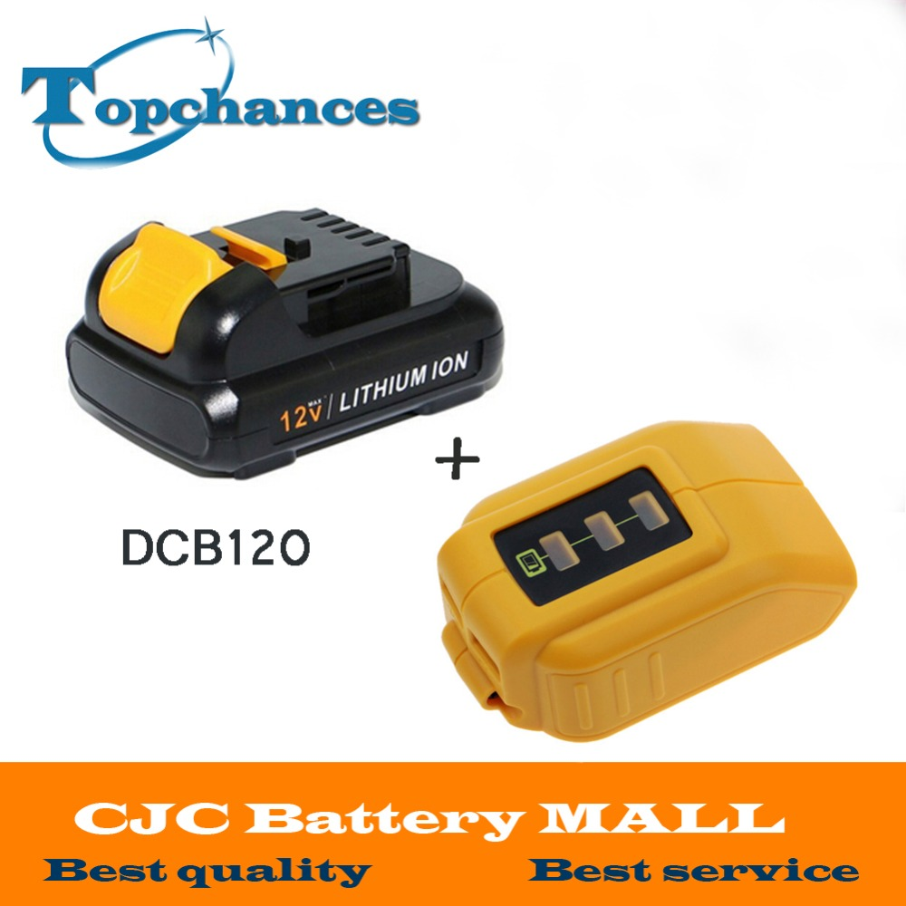 High Quality font b power b font font b tool b font Battery For Dewalt 12V