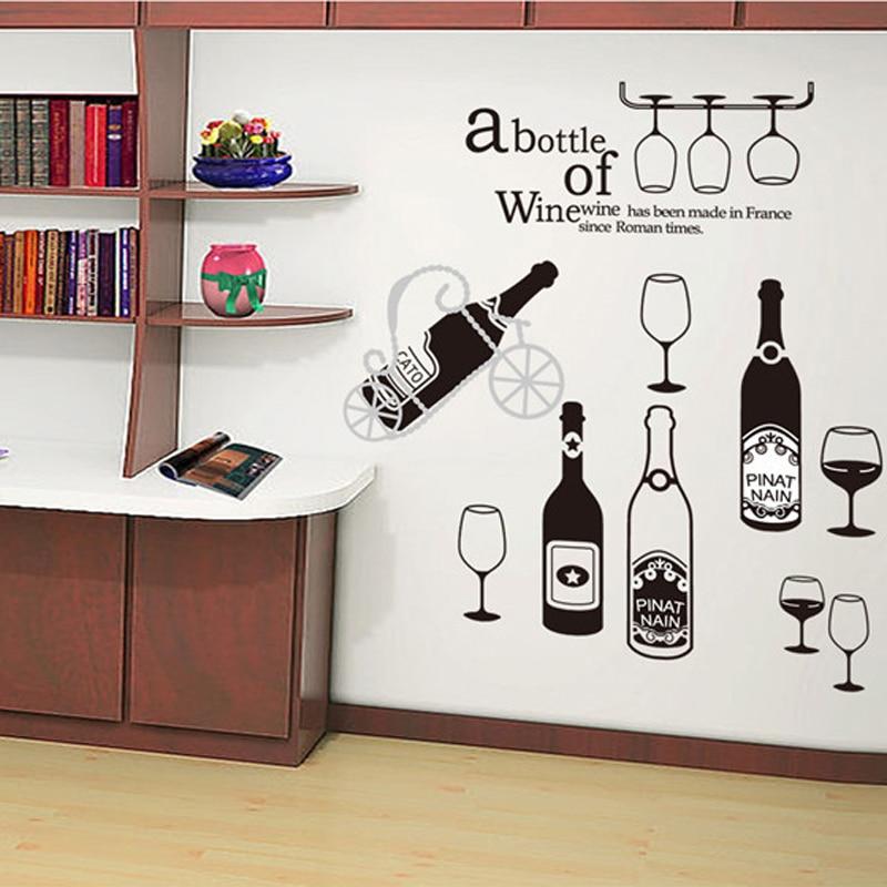 stickers muraux décoration~Cave à vin~CUISINE Maison