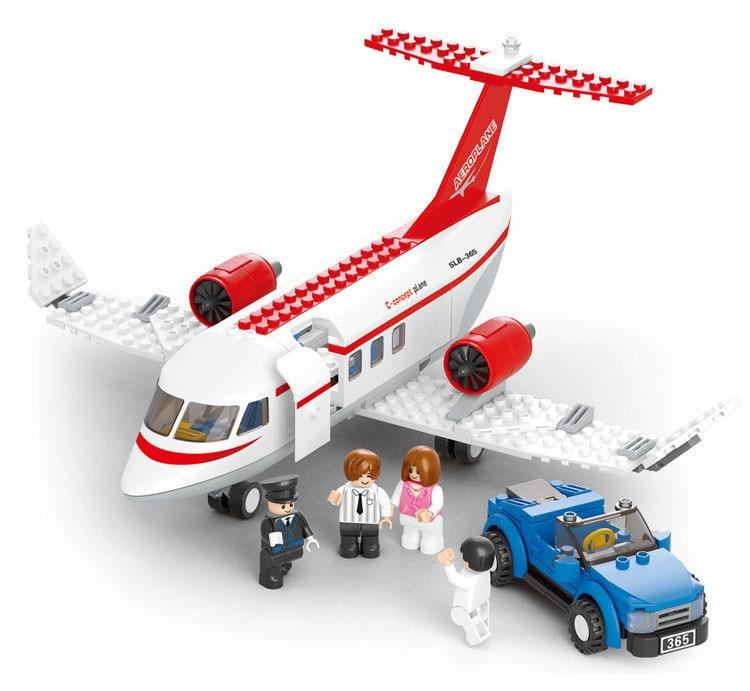Vairumtirdzniecība Celtniecības bloki Kosmosa Shuttle sērijas lidmašīnu modelis Bērni Izglītojoši saderīgi ķieģeļi iedomātā Rotaļlietas